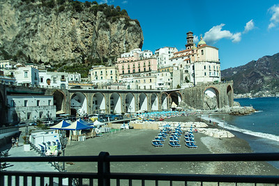 Atrani - a small village next to Amalfi