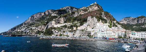 Amalfi from the pier