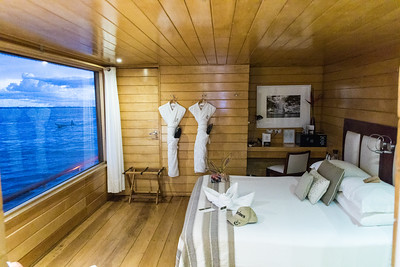 Our cabin on the boat