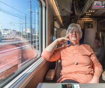 Taking a train from Naples to Florence
