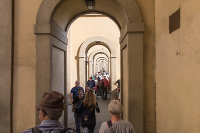 Walkway along the Arno River