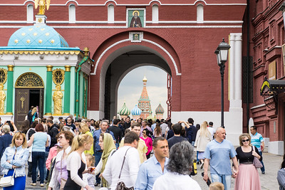 An entrance to Red Square