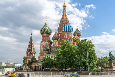 St Basil's on Red Square