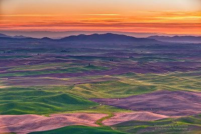 Eastern Washington's Palouse at Sunrise