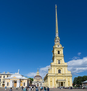 Saints Peter and Paul Cathedral - The cathedral houses the remains of almost all the Russian emperors and empresses from Peter the Great to Nicholas II and his family