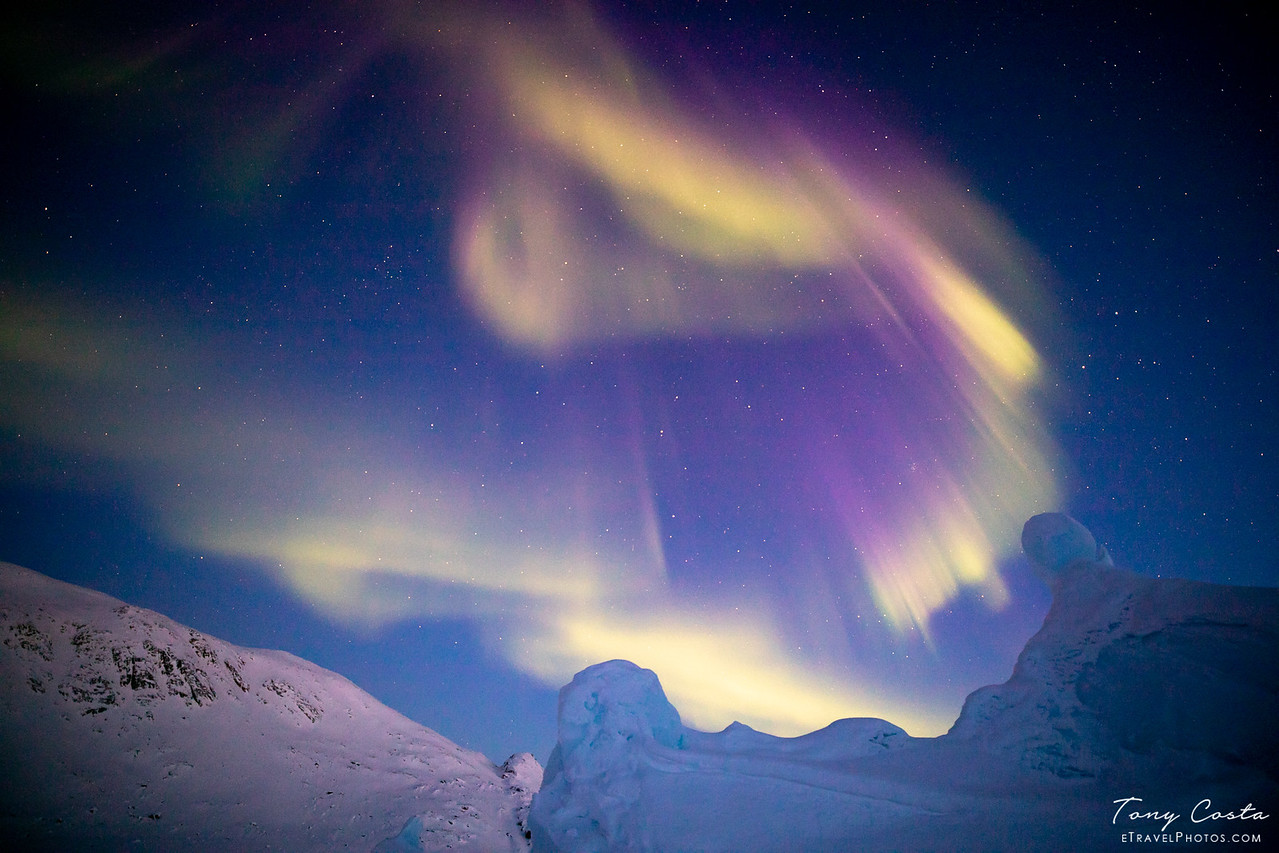 Northern Lights from Baffin Island