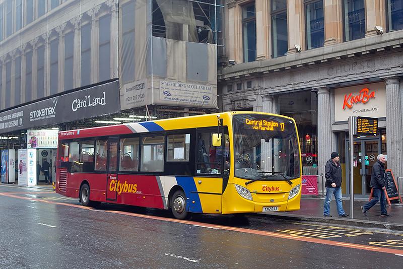11216 YX12DJJ, Glasgow 1/12/2018