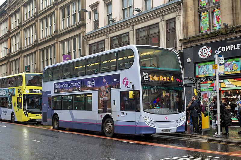 33918 SN61BEU, Glasgow 1/12/2018