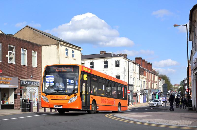 112 SN11FFV, Stoke-on-Trent 2/5/2018