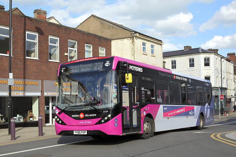 67159 YY66PXP, Stoke-on-Trent 2/5/2018