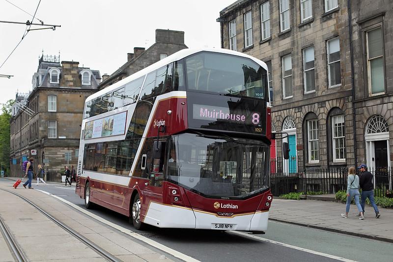 1057 SJ18NFH, Edinburgh 4/6/2018