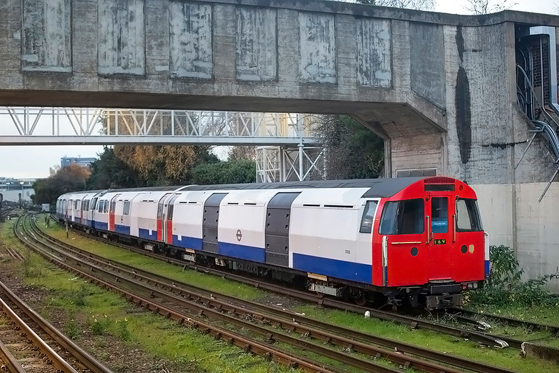 Tunnel Inspection Train 3022, Acton Twon 4/12/2018