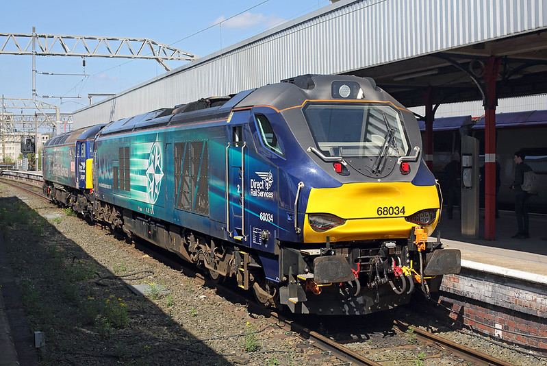 68034 and 57307, Stockport 5/5/2018