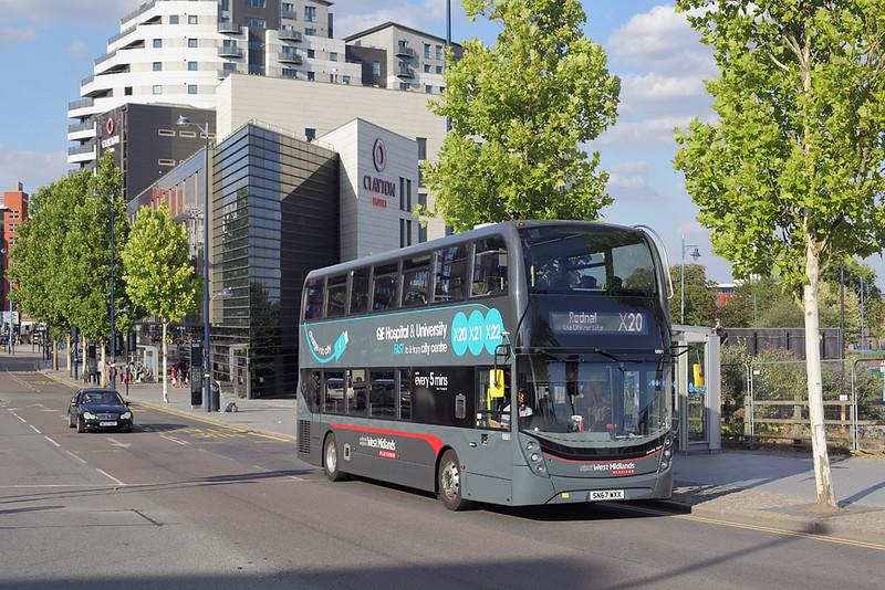 6881 SN67WXX, Birmingham 5/8/2018