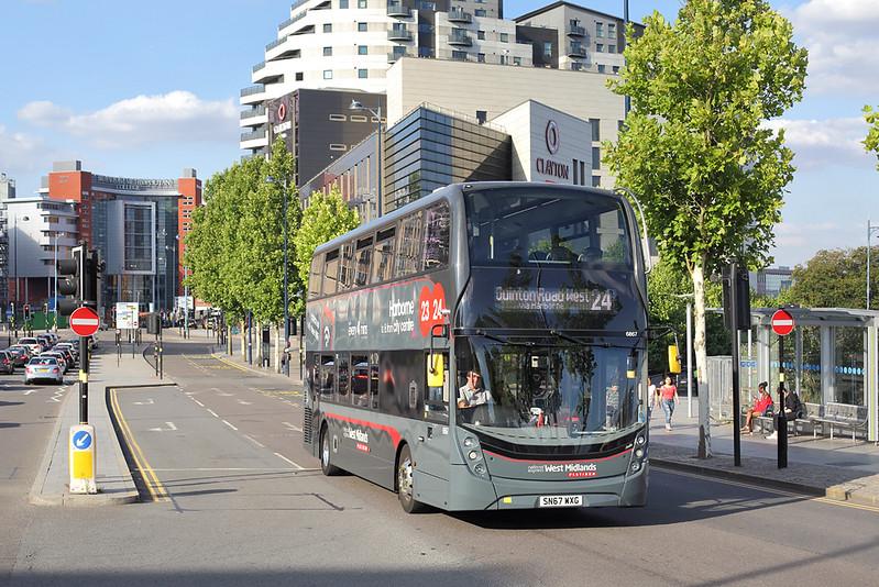 6867 SN67WXG, Birmingham 5/8/2018