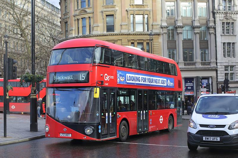LT407 LTZ1407, Trafalgar Square 6/3/2018