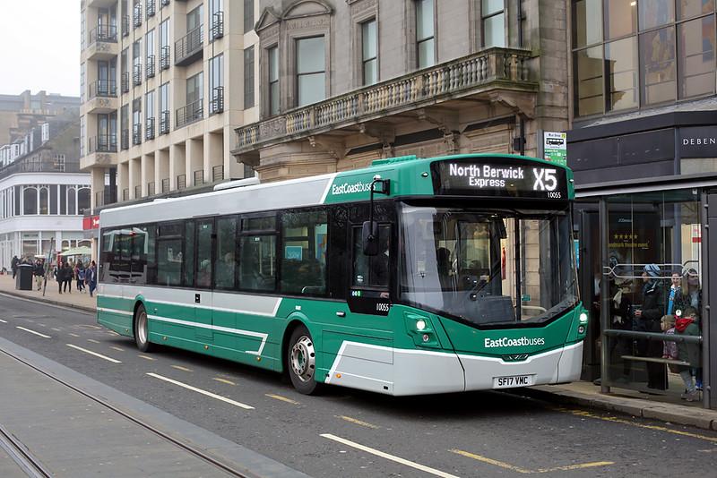 10055 SF17VMC, Edinburgh 13/4/2018