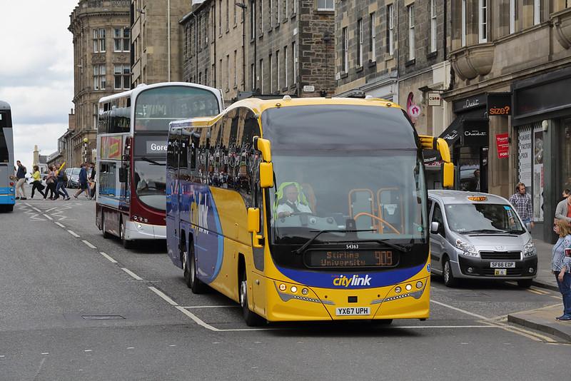 54363 YX67UPH, Edinburgh 11/8/2018