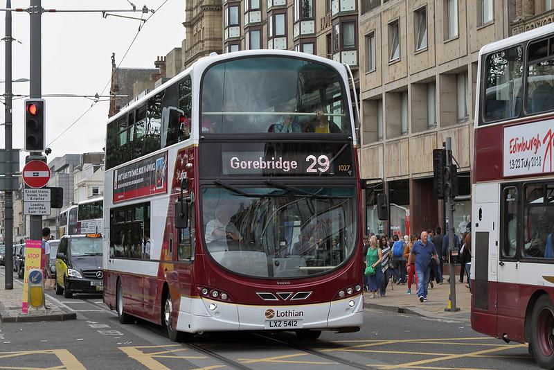 1027 LXZ5412, Edinburgh 11/8/2018