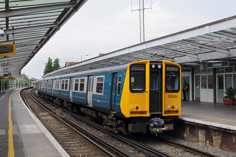 313201 Chichester 12/6/2018<br /> 2S13 1157 Portsmouth and Southsea-Littlehampton