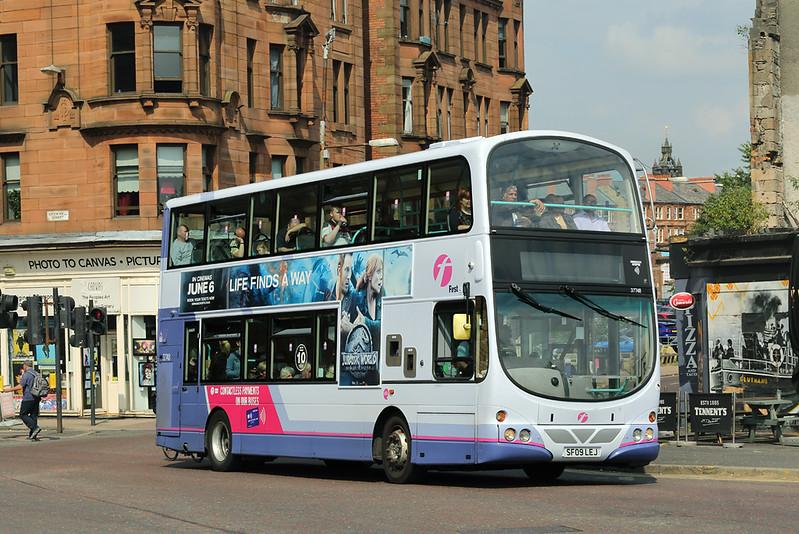 37748 SF09LEJ, Glasgow 13/7/2018