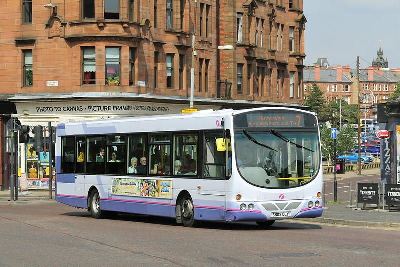 65758 SN03CLY, Glasgow 13/7/2018