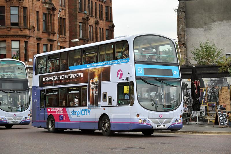 37736 SF09LDD, Glasgow 13/7/2018