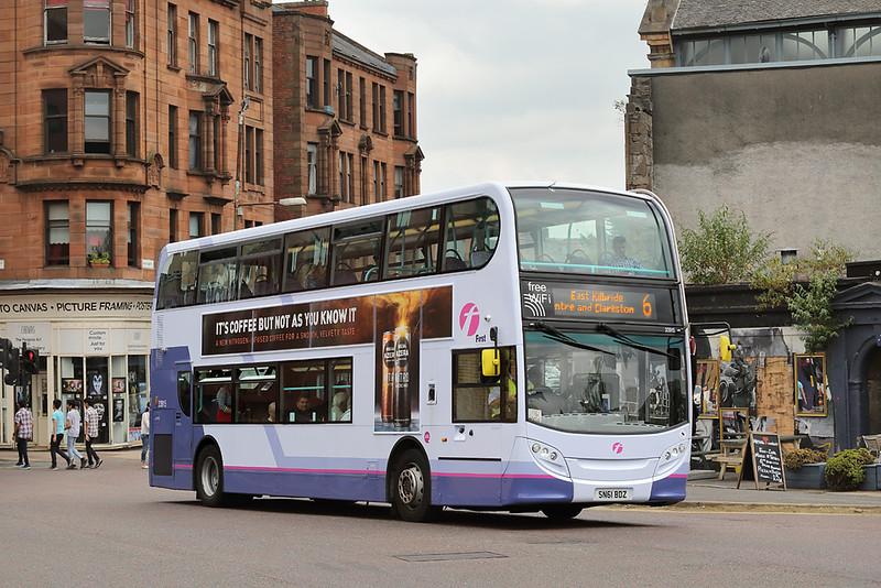 33915 SN61BDZ, Glasgow 13/7/2018