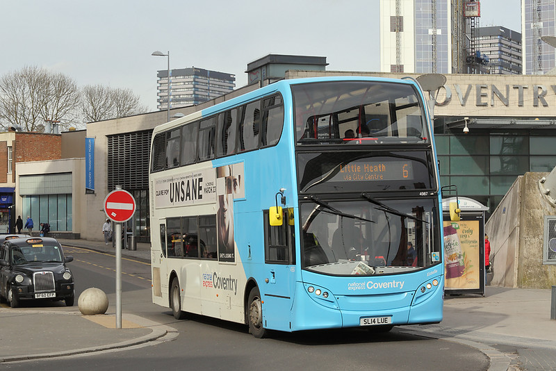 4987 SL14LUE, Coventry 14/3/2018