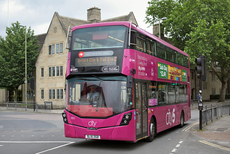 652 SL15ZGD, Oxford 14/6/2018