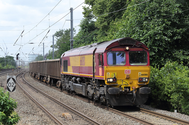 66080 Hanwell 15/6/2018<br /> 6A18 1040 Brentford Town-Acton Yard