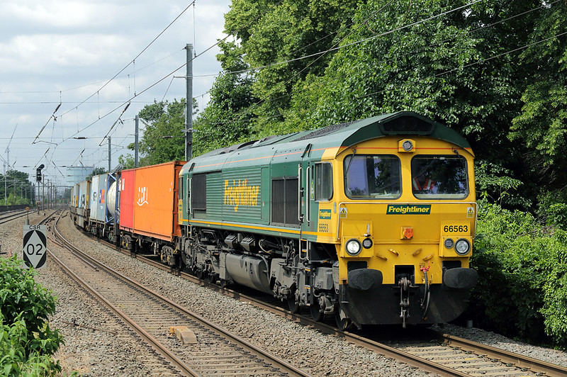 66563 Hanwell 15/6/2018<br /> 4L31 0903 Bristol FLT-Felixstowe FLT