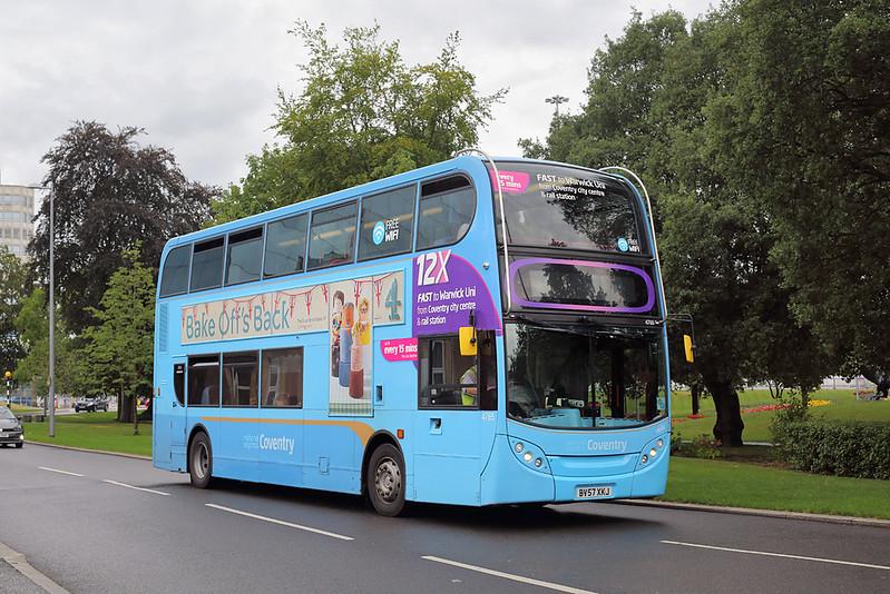4765 BV57XKJ, Coventry 16/8/2018
