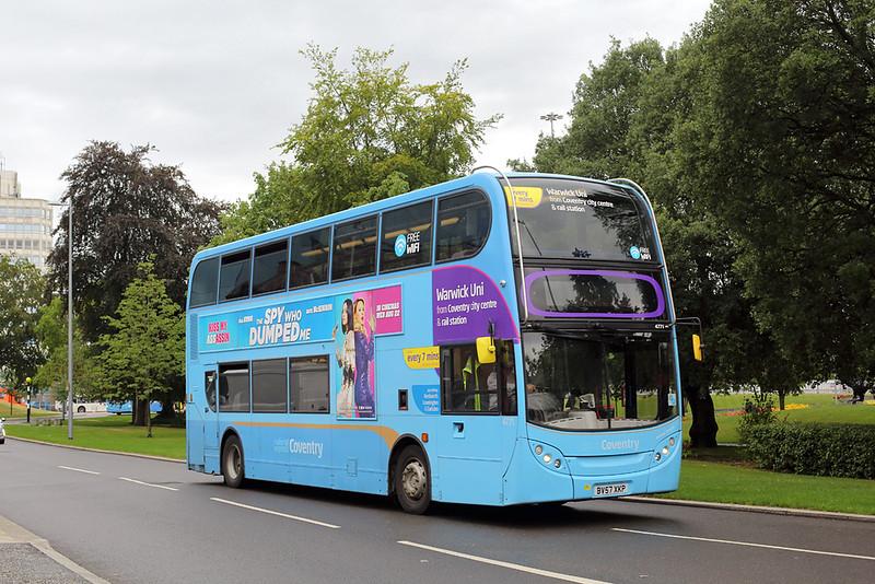 4771 BV57XKP, Coventry 16/8/2018