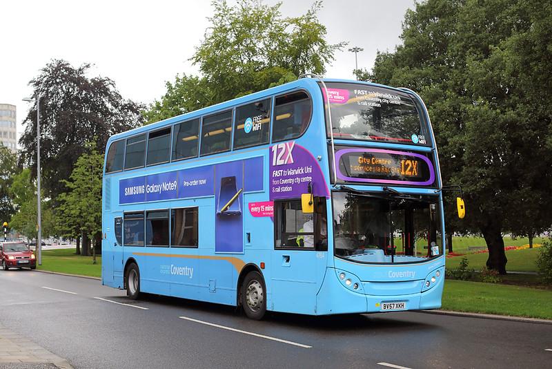 4764 BV57XKH, Coventry 16/8/2018
