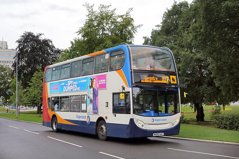19004 MX06XAC, Coventry 16/8/2018