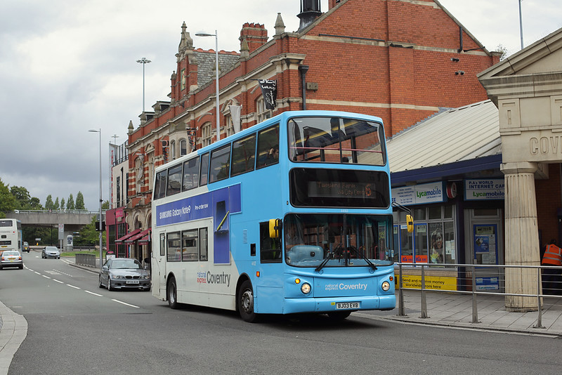 4452 BJ03EVE, Coventry 16/8/2018