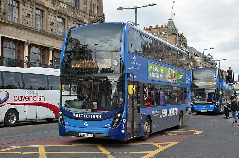 33442 SN66WGU, Edinburgh 16/9/2018