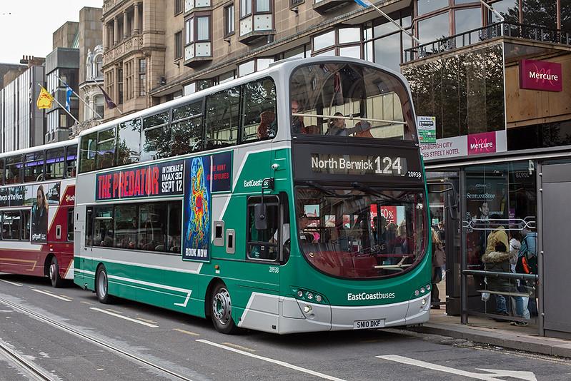 20938 SN10DKF, Edinburgh 16/9/2018