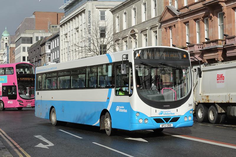 395 AFZ1395, Belfast 17/4/2018