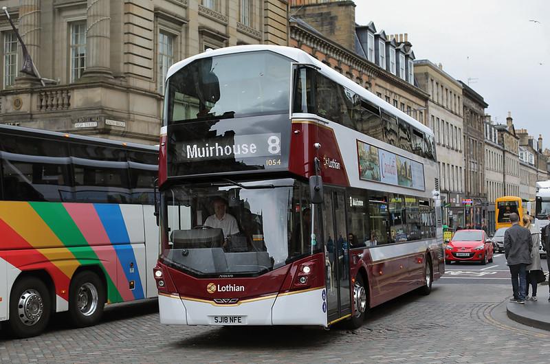 1054 SJ18NFE, Edinburgh 18/6/2018
