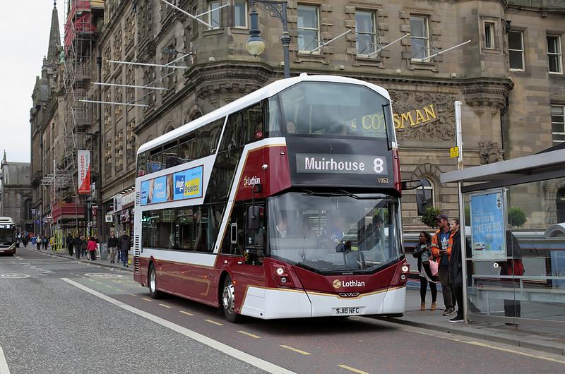 1052 SJ18NFC, Edinburgh 18/6/2018
