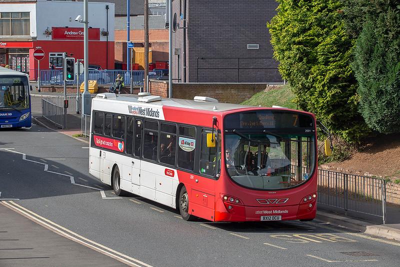 2091 BX12DCU, Stourbridge 18/9/2018
