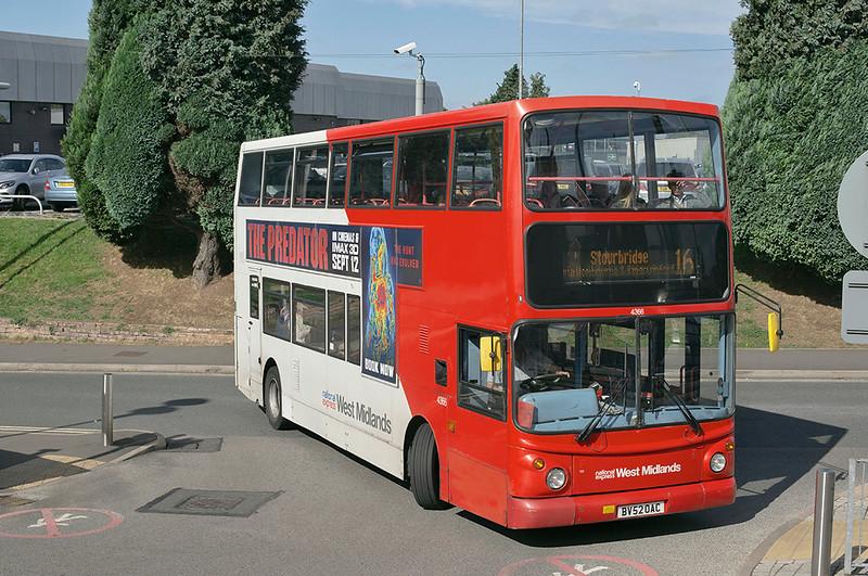 4366 BV52OAC, Stourbridge 18/9/2018