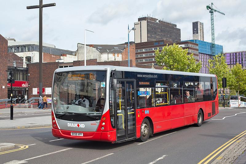 30502 BX58APF, Birmingham 19/9/2018