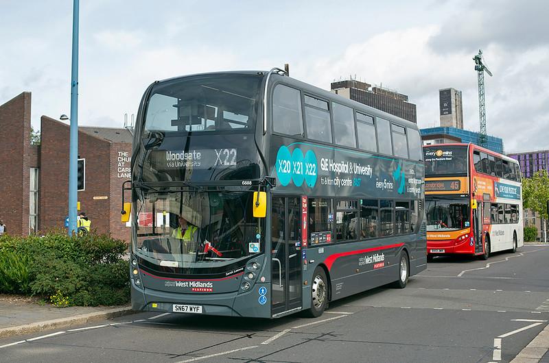 6888 SN67WYF, Birmingham 19/9/2018