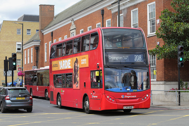 10152 LX12DHD, Bromley 20/8/2018