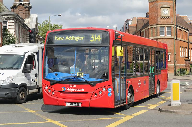 36541 LX12DJE, Bromley 20/8/2018