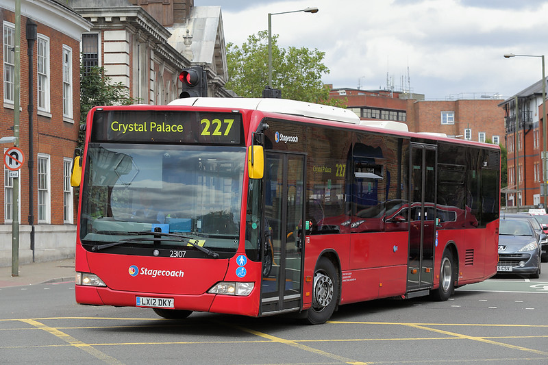 23107 LX12DKY, Bromley 20/8/2018