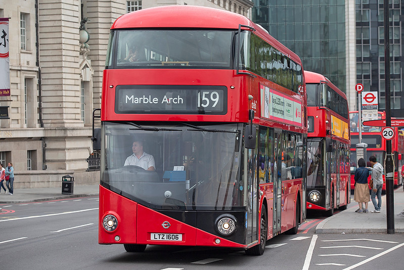 LT606 LTZ1606, Westminster Bridge 20/9/2018